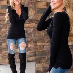 Sweaters - Black Women's long sleeve women's sweater tops